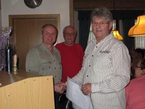 Alfred Birner (links) und Wolfgang Ehbauer waren von Anfang an dabei