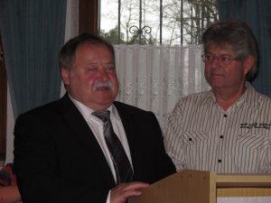 Auch Landessportleiter Ludwig Mayer sparte nicht mit Lob an den Organisator und dessen Helferteam