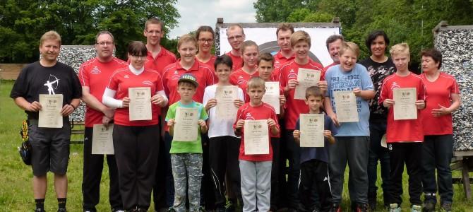 Vereinsmeisterschaften WA der Sulzbach-Rosenberger Bogenschützen