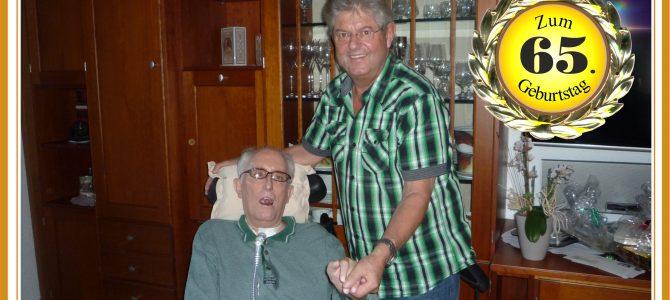 RWK-Sponsor Wolfgang Guder feiert 65. Geburtstag