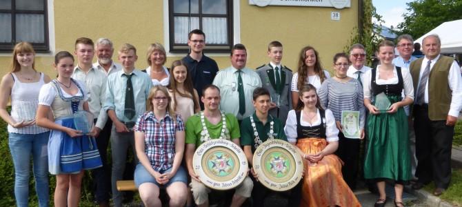 Schützengau Sulzbach-Rosenberg kürt ihre neuen Würdenträger