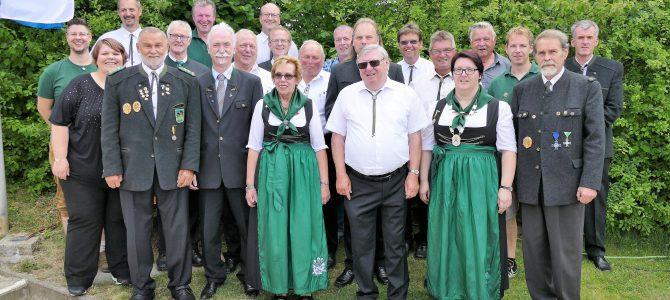 90 Jahre Schützengesellschaft Drei Mohren Poppenricht