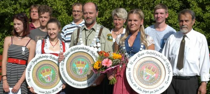 Preisverteilung zum 78. Gauschießen des Schützengaues Sulzbach-Rosenberg