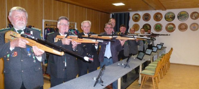 Eröffnung 79. Gauschießen beim Schützenverein Tanzfleck
