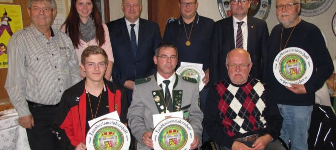 32. Landkreismeisterschaft endete mit der Siegerehrung